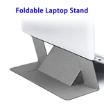 Brand New Portable Ultra-slim Foldable Anti-slip Laptop Stand (Grey)