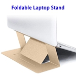 Brand New Portable Ultra-slim Foldable Anti-slip Laptop Stand (Gold)