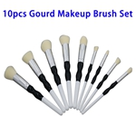 Hot Selling Beauty Needs 10pcs Synthetic Hair Gourd Makeup Brush Set (Color 3)