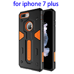 NILLKIN Shockproof TPU and PC Combination Phone Case for iPhone 7 Plus (Orange)