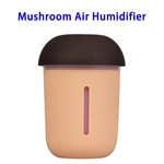 CE ROHS FCC Approved 200ML USB Mushroom Air Humidifier (Yellow)