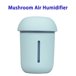 CE ROHS FCC Approved 200ML USB Mushroom Air Humidifier (Blue)