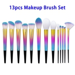 Private Label 13pcs Synthetic Hair Makeup Brush Set