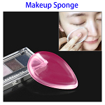 Waterdrop Shaped Soft Smooth Powder Cream Puff (Rose)