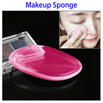 Quadrangle Shaped Soft Smooth Powder Cream Puff (Rose)