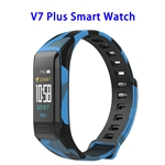 New Design Dailog Chip Wireless Version 4.0 0.96inch TFT Colorful Display Sports Smart Watch (Blue)