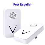 Advanced Mosquito Repellent Mouse Ultrasonic Pest Repeller Plug in