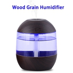 CE Approved 700ML Aroma Essential Oil Diffuser Ultrasonic Air Humidifier(Dark Wood)