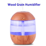 CE Approved 700ML Aroma Essential Oil Diffuser Ultrasonic Air Humidifier(Wood)