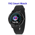 YH2 1.3inch Full-touch Screen Heart Rate Blood Pressure Smart Watch Band (patern 1)