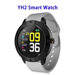 YH2 1.3inch Full-touch Screen Heart Rate Blood Pressure Smart Watch Band (patern 2)
