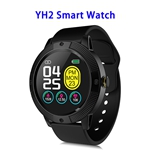 YH2 1.3inch Full-touch Screen Heart Rate Blood Pressure Smart Watch Band (patern 3)