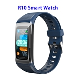 Brand New R10 Model 1.14inch Colorful Touching Screen Professional Fitness Data Recorder Smart Band (Blue)
