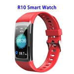 Brand New R10 Model 1.14inch Colorful Touching Screen Professional Fitness Data Recorder Smart Band (Red)