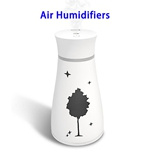 CE ROHS Approved 200ML Maple Top Fill Ultrasonic Cool Mist Humidifiers Air Humidifier(White)