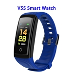 CE ROHS FCC Approved Activity Tracker Watch with Heart Rate Monitor Smart Band Smart Fitness(Blue)