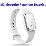 CE ROHS FCC Sonic Anti Mosquito Killer Time Display Ultrasonic Mosquito Repellent Bracelet (White)
