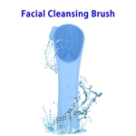 3 in 1 Electric Waterproof Sonic Facial Cleansing Brushes(Blue)
