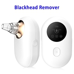 High Quality Mini Electric Blackhead Vacuum Remover with 5 Removable Probes(Gold)
