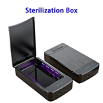 New Patent Model Cellphone Sterilization Box Phone Disinfection Case with CE RoHS FCC EPA (Black)