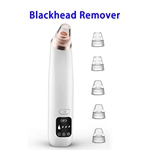 2020 Upgraded FDA USB Rechargeable Blackhead Vacuum Remover with 6 Removable Probes