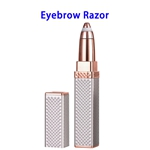 New Arrival Hair Remover Lady Portable Electric Eyebrow Trimmer( Rose Gold)