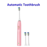 Portable Battery Operated Easy Carry Custom Toothbrush Smart Travel Automatic Toothbrush Manufacturer(Pink)