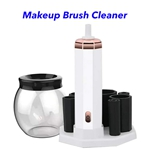 CE ROHS FCC USB Rechargeable Cleaning Machine for Cleans Makeup Brushes(White)