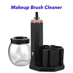 CE ROHS FCC USB Rechargeable Cleaning Machine for Cleans Makeup Brushes(Black)