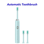 New Product Ideas 2020 Waterproof 1200mah Patent Automatic Toothbrush(Green)