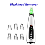 Facial Pore Clean Nose Strip Electric Vacuum Blackhead Remover Vacuum(Black)