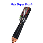 New Trending 800W Infrared Light Hot Air Comb Hair Dryer Brush with Sprayer