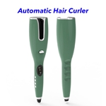 Newest Design Hair Curling Iron Portable Electric Automatic Hair Curler(Dark Green)