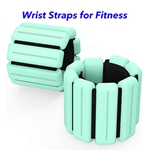 New Technology Magnetic Therapy Weight-Bearing Bracelet Adjustable Ankle Wrist Weight Bracelet (Green)