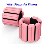 New Technology Magnetic Therapy Weight-Bearing Bracelet Adjustable Ankle Wrist Weight Bracelet (Pink)