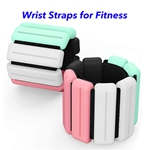 New Technology Magnetic Therapy Weight-Bearing Bracelet Adjustable Ankle Wrist Weight Bracelet (Mixed color)