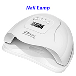 LED UV 110W Painless Portable Mini Nail Dryer Gel Polish Light Manicure Nail Lamp