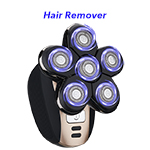 6 Heads 5 in 1 Professional Men Rotary Razor Electric Auto Rotating Shaver