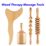 Wood Lymphatic Drainage Massage Tool Anti Cellulite Wood Massage Therapy Tools