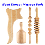 Wood Lymphatic Drainage Massage Tool Anti Cellulite Wood Therapy Massage Tools Wood