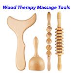 Wood Lymphatic Drainage Guasha Massage Tool Anti Cellulite Wood Massage Therapy Tools