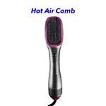 One Step Hair Straightener Hair Dryer and Volumizer Hot Air Hair Brush Dryer(Silver)
