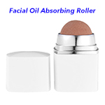 Naturally Green Facial Skincare Tool Oil Control Oil Absorbing Volcanic Face Roller(White)