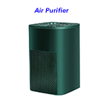 Portable Air Cleaner Home Use Uv Hepa Filter Air Purification Ionic Electrostatic Car Air Purifier(Green)