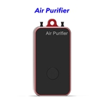 Negative Ion Household Mini Portable Wearable Hepa Filter Air Purifier Necklace(Red)