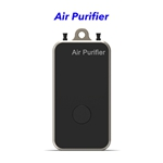 Negative Ion Household Mini Portable Wearable Hepa Filter Air Purifier Necklace(Golden)