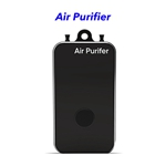 Negative Ion Household Mini Portable Wearable Hepa Filter Air Purifier Necklace(Black)