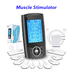 Dual Channel TENS Unit 24 Modes Muscle Stimulator for Pain Relief Therapy Ems Muscle Stimulation