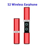 Crazy Demand Wireless Version 5.0 S2 Model Auto-matching Sports Earphone (Red)