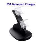 Brand New Designed Stable and Fast PS4 Gamepad Charger (Black)